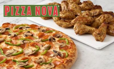 PIZZA AND WINGS at Pizza Nova