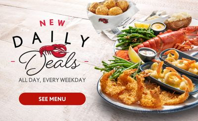 Red Lobster New Daily Deals: Endless Shrimp, Two Tuesdays & more!