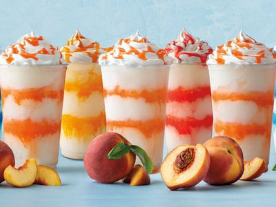 New Peach Lemonade Frost is Keeping it Cool at Auntie Anne's