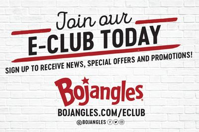 Get a Free Half Gallon of Legendary Iced Tea With Purchase at Bojangles when You Join Bojangles' E-Club