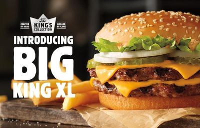 Big King XL Makes its Mark Again at Burger King for a Limited Time Only