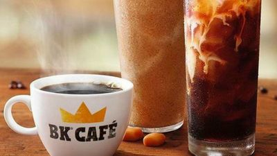 BK Cafe Rebrand, with Coffee, Iced Coffee and Frappes, Launches at Burger King