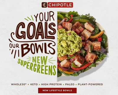Expanded and Improved Lifestyle Bowls Arrive at Chipotle