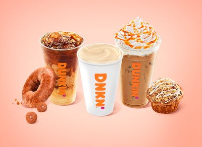 New Pumpkin Spice Latte and Returning Pumpkin Favorites are at Dunkin' Donuts: Muffins, Donuts, Munchkins & More