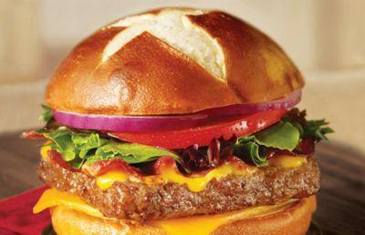 Brand New Pretzel Bacon Pub Cheeseburger Arrives at Wendy's