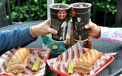 Free Large Drink with Sub Purchase When you Download the Firehouse Subs App and/or Create an Online Account