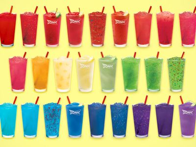 Sonic Introduces Limited Time Only Drinks and Slushes Happy Hour from 2 to 4 pm Daily