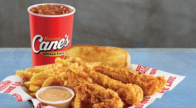 For a Limited Time Get a Free Box Combo at Raising Cane's when you Join the Caniac Club and Register your Card