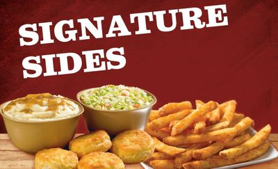Free Large Side with Purchase of a Qualifying Family Meal at Popeyes for a Limited Time