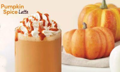 Pumpkin Spice Latte at Tim Hortons