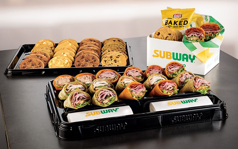Purchase a $75+ Catering Order at Subway with Promo Code and Get 10% Off