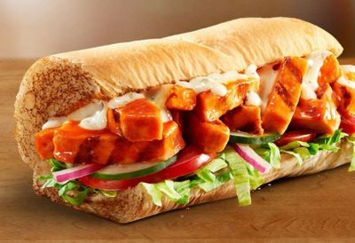 Limited Time Only BBQ Chicken and Buffalo Chicken Footlongs Arrive at Participating Subway Restaurants
