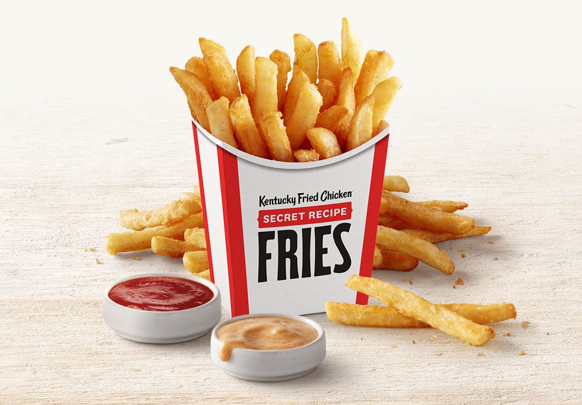 New Secret Recipe Fries Launch Nationwide at Kentucky Fried Chicken