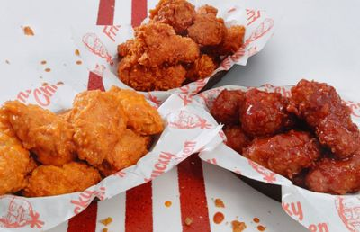 For a Limited Time Only Kentucky Fried Wings in Buffalo, Honey BBQ and Nashville Hot Flavors Offered at Kentucky Fried Chicken