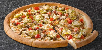 The Large Double Cheeseburger Pizza Returns to Papa John's for a Limited Time Only
