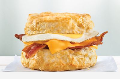 Hardee's Rolls Out New Bacon, Fried Egg & Cheese Biscuit