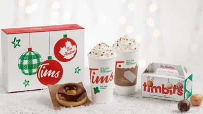 Tim Hortons Canada Reveals 2020 Holiday Packaging