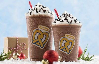 Hot Chocolate Frost Back for the Holidays at Auntie Anne's Pretzels