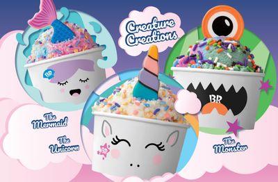 New Creature Creations and DIY Creature Creations Kits Launch at Baskin-Robbins