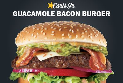 Guacamole Bacon Angus Thickburger Arrives at Carl's Jr. for a Limited Time