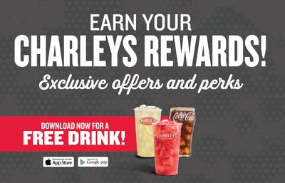 Download the Charleys Philly Steaks App and Receive a Free Drink