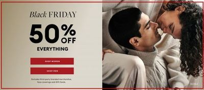 Banana Republic Canada Black Friday Deals: Save 50% OFF Everything + Extra 10% OFF + More
