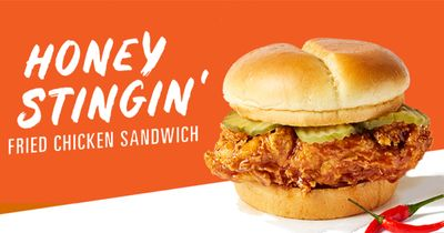 Honey Stung Fried Chicken Sandwiches Featuring Frank's RedHot Arrive at Chester's Chicken
