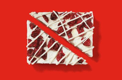 Starbucks Introduces the Holiday Themed Cranberry Bliss Bar
