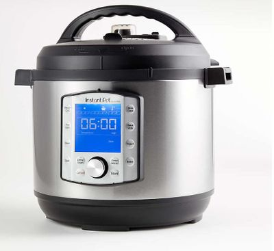 Instant Pot ® 8-Qt. Evo Electric Pressure Cooker For $149.96 At Crate & Barrel Canada