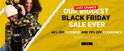 Bench Canada Black Friday Sale: Save 40% OFF Sitewide + 70% OFF Clearance + More