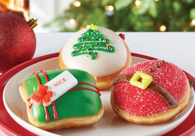 Krispy Kreme Introduces New Trio of Holiday Collection Doughnuts