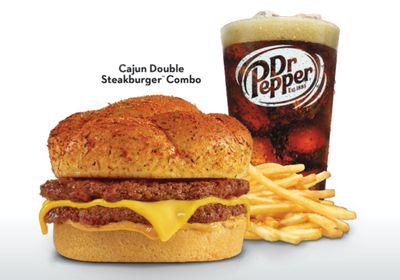 Select Steak 'n Shake Restaurants are Again Offering the Cajun Double Steakburger
