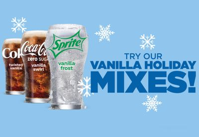 White Castle Pours New Icy Cold Vanilla Holiday Mixes for a Limited Time