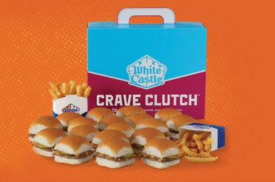 Get the New Crave Clutch with a Feast of Sliders and Fries at White Castle