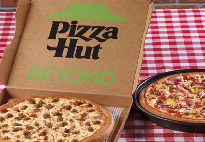 Pizza Hut Partners with Beyond Meat to Introduce New, Plant-Based Beyond Pan Pizzas to their Menu