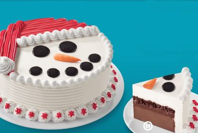 New Holiday Themed Ice Cream Cakes Available at Dairy Queen for a Limited Time