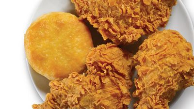 3 Pieces of Chicken and a Biscuit Now $3.99 with Mobile Orders at Popeyes Chicken