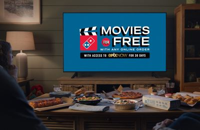 Domino's Pizza and Epix Now Partner to Bring You a Month of Free Movies with Your Next Online Domino's Order