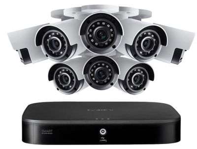 4K Ultra HD 8-Channel Security System with Eight 4K (8MP) Cameras featuring Smart Motion Detection and Color Night Vision For $524.99 At Lorex Canada