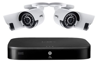 4K Ultra HD 8-Channel Security System with Four 4K (8MP) Cameras featuring Smart Motion Detection and Color Night Vision For $354.99 At Lorex Canada
