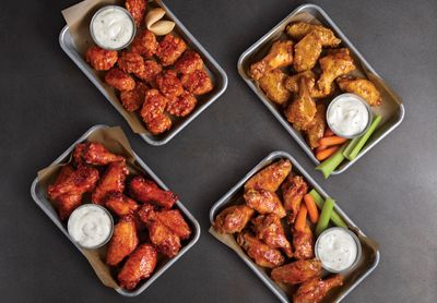 Buffalo Wild Wings Launches 4 New Chicken Wing Sauces: Lemon Pepper, Pizza, Orange Chicken & More