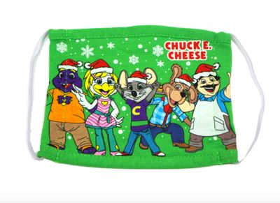 Seasonal Chuck E. Cheese Face Masks for Kids are Now 50% Off at the Chuck E. Cheese Online Store