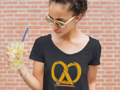 New Pretzel Swag Arrives at the Auntie Anne's Online Shop with Some Proceeds Going to the ALSF Charity