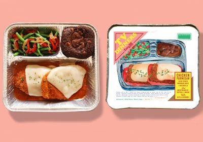 New Chicken Parmesan TV Dinner Arrives at the Lazy Dog Restaurant & Bar for a Limited Time