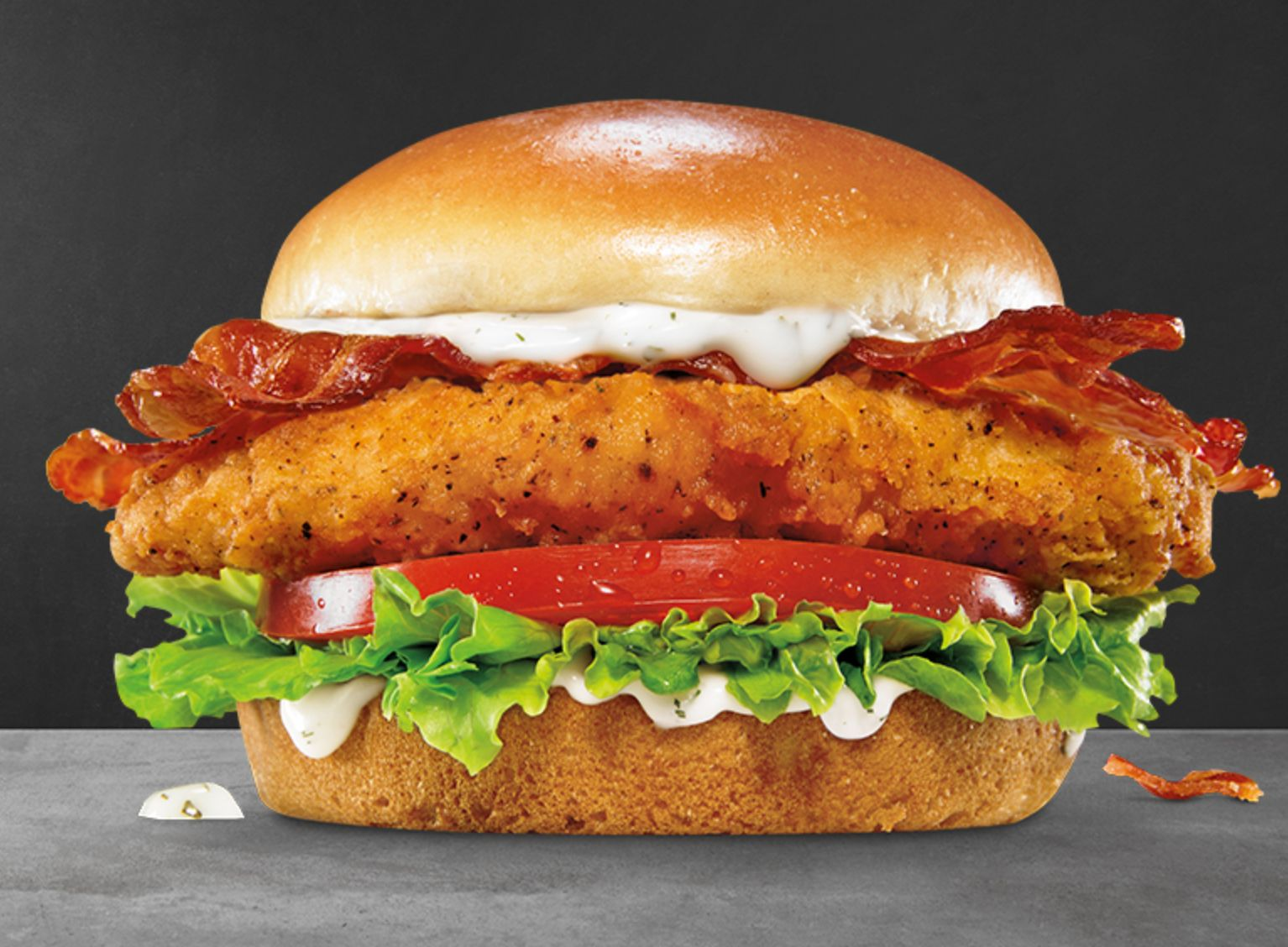 Carl's Jr. Welcomes the New BLT Ranch Chicken Sandwich for a Limited Time Only