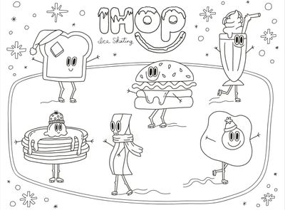 IHOP Gives New Winter Themed Coloring and Activity Sheets Away for Free Online