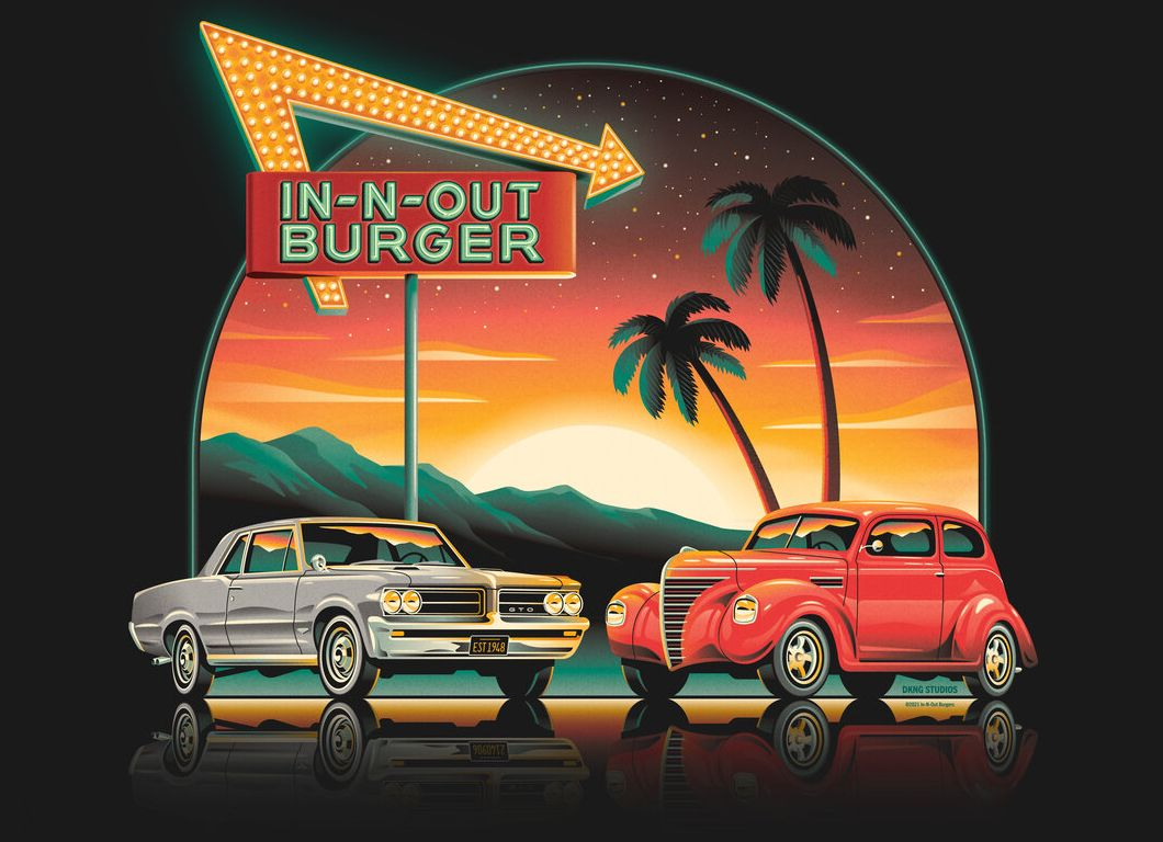 New Official 2021 In-N-Out Burger T-Shirt Arrives Online at the In-N-Out Burger Company Store