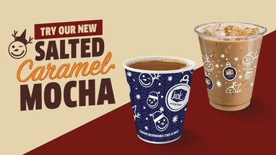New Salted Caramel Mocha Available at Jack In The Box for a Limited Time
