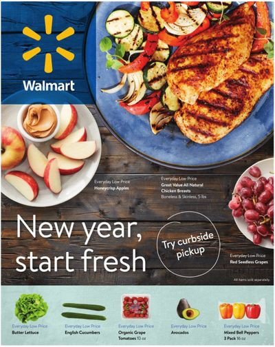 Walmart Weekly Ad Flyer December 30 to January 26