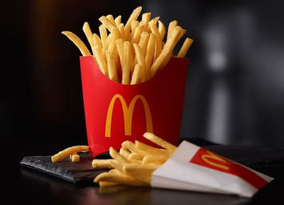 Spend $1 with McDonald's Mobile Order & Pay on Fridays and Receive a Medium Order of Fries for Free